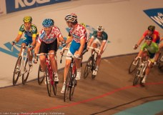 Nick Stopler slings in Danish cycling god Alex Rasmussen.