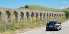 A beautiful Roman viaduct.