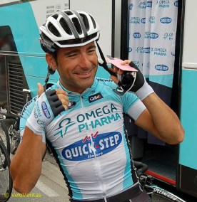 Francesco Chicchi is the former world U23 road race champion with the Schwarzenegger thighs is having his best ever season.