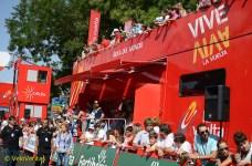 A VIP tribune.