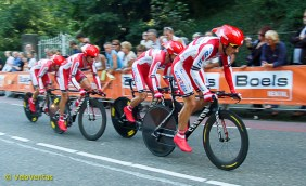 Katusha didn't expect to get much from the TTT.