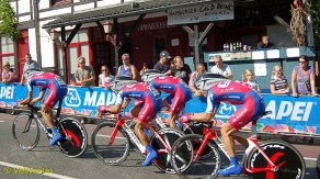 Lampre are under fire for not winning much this season.