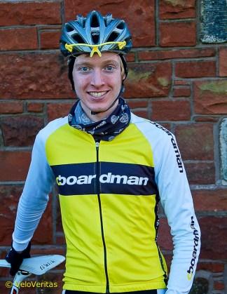 Grant Ferguson, the new Scottish Hill Climb Champion.