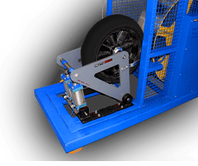 Rotobox RADIAL FATIQUE TEST The wheel is exposed to rotational forces.