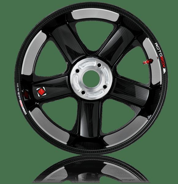 RotoBox RX2 Carbon Convex Wheels Back