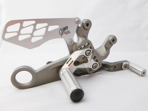 BMW 2015 S1000RR Titanium Coating Rearset