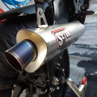 Seton Tuning New tri-Oval Exhaust
