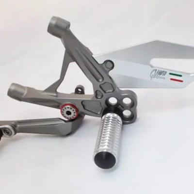 Ducati 8991199 Titanium Rearset Kit