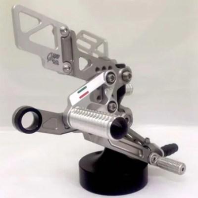 RSV4 Titanium Rearset