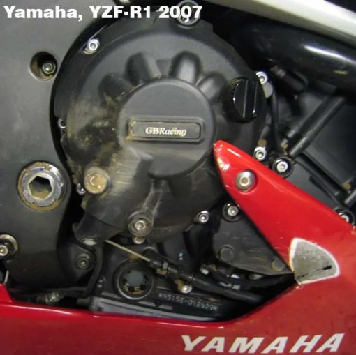 EC-R1-2007-SET-GBR YZF-R1 ENGINE COVER SET 2007 - 2008