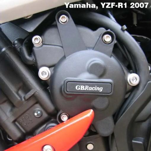 FZ1 2009-2015 Alternator Cover EC-R1-2007-1-GBR