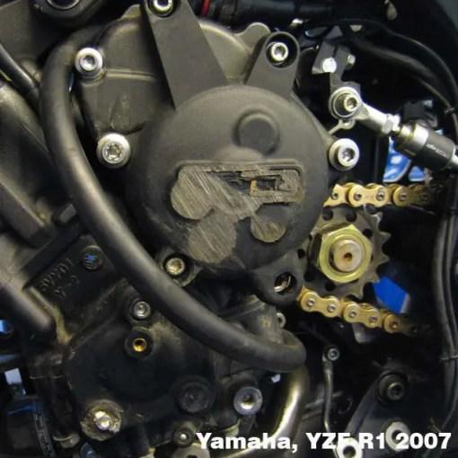 EC-R1-2007-SET-GBR YZF-R1 ENGINE COVER SET 2007 - 2008