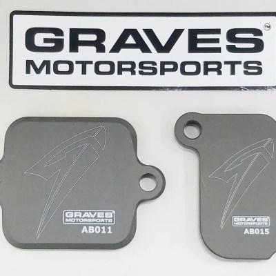 graves yxz1000rr fz09 xsr900 smog plates