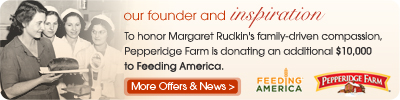 Pepperidge Farm News and Offers