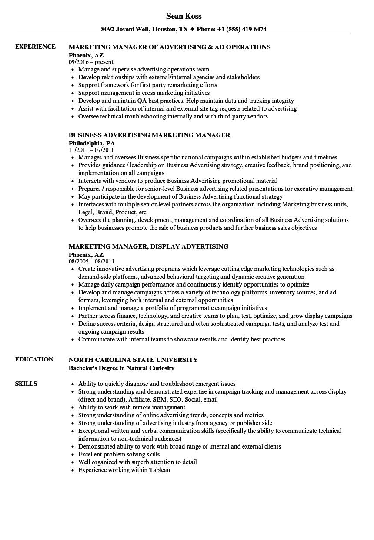 Senior Product Management Resume Formats