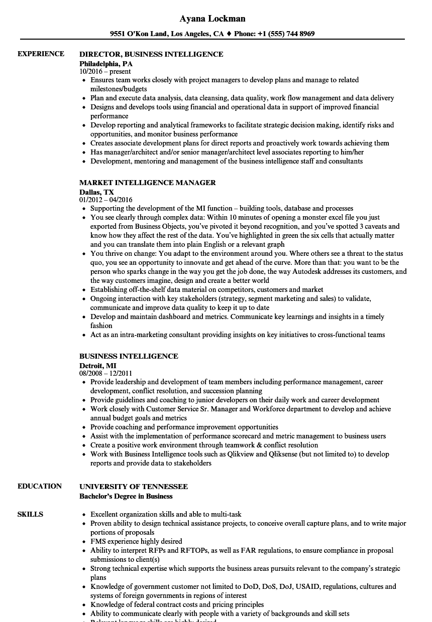 High emotional intelligence is key to connecting with others and lasting relationships. Intelligence Resume Samples Velvet Jobs