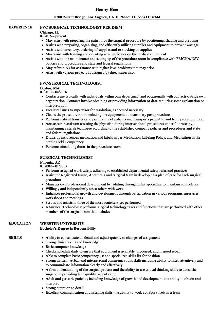 Sample Resume Director Radiology