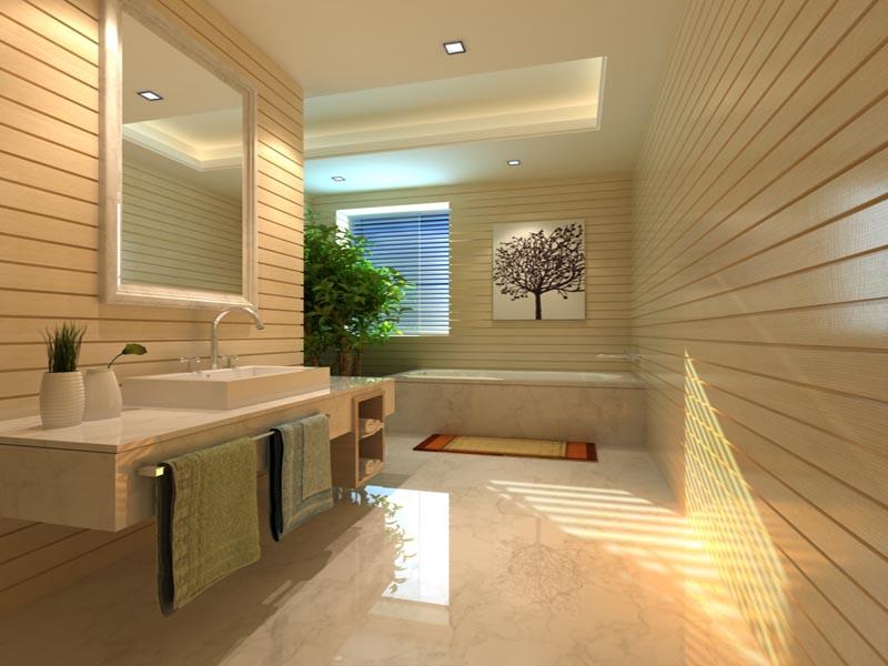 white marble foor tile