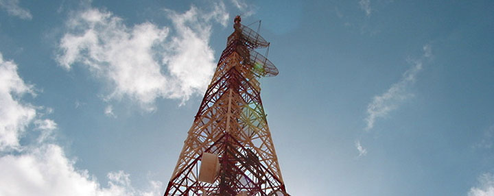 Image of VEMA radio services tower