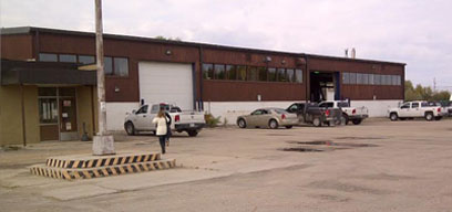 Image of The Pas VEMA heavy duty equipment location