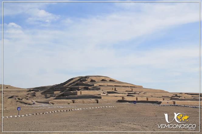Cauhachi e a pirâmide principal