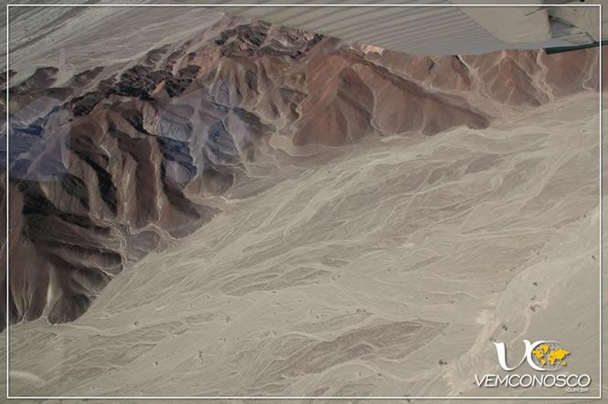 Montanhas do Deserto de Nazca