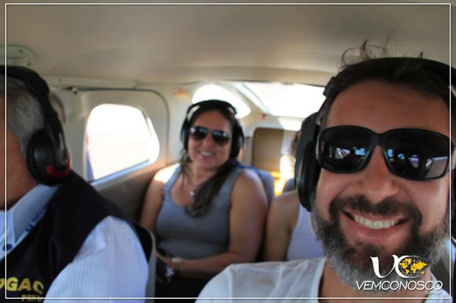 Voando sobre o Deserto de Nazca