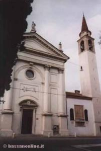 Angarano, église de la Santissima Trinità