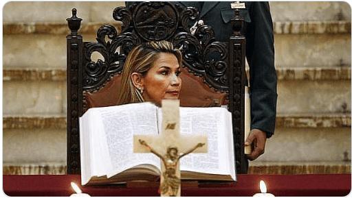 La Iglesia Católica abrió el camino a un gobierno ilegal