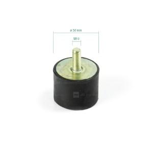 Silentblock ø 50 × 39 mm / M10 adaptable Alma AL6412 y Gregoire 025005