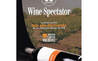 Valderiz, mejor vino del mundo por menos de 50 $