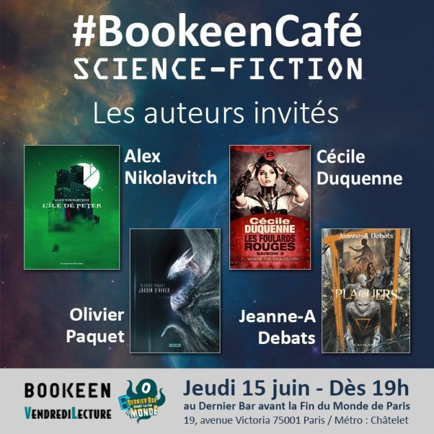 BookeenCafé science-fiction