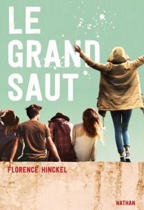 couverture du Grand Saut, roman jeunesse de Florence Hinckel