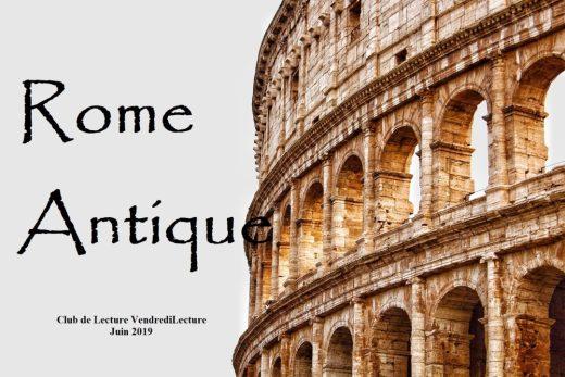 CLVL Juin 2019 Rome Antique