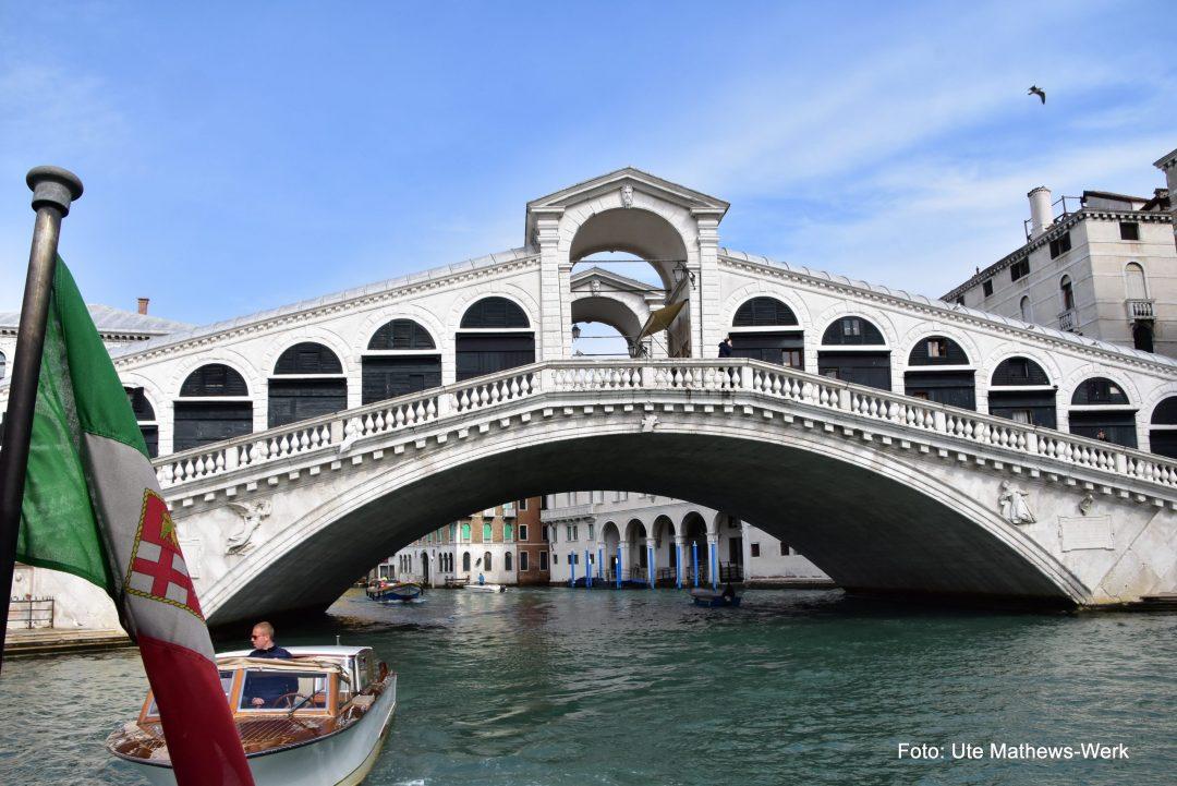 Rialto Brücke, Venedig
