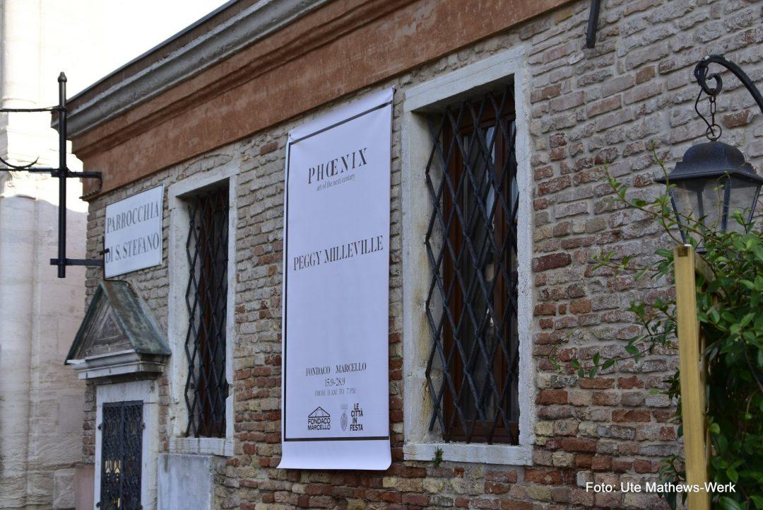 Phoenix, Ausstellung der Künstlerin Peggy Milleville im Fondaco Marcello