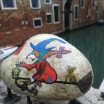 La Befana, die liebe Hexe war in Venedig