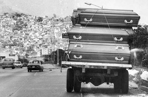 Miles de venezolanos fueron asesinados durante el Caracazo de 1989.