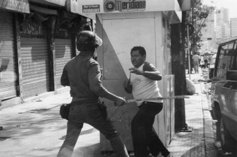 Los manifestantes fueron reprimidos por los organismos de seguridad.