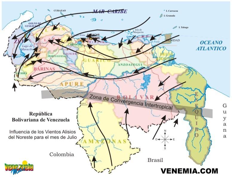Resultado de imagen para CLIMA EN VENEZUELA
