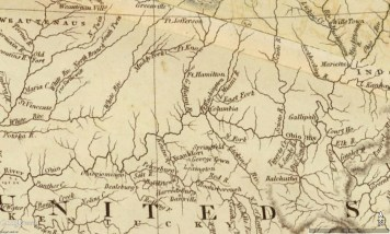Bluegrass Map 1819 Arron Arrowsmith