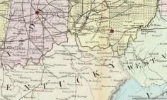 Bluegrass Map 1867