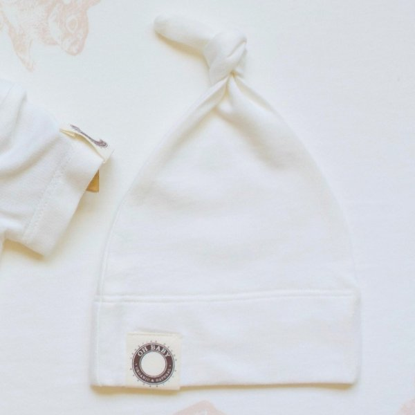 Knotted Baby Hat  Unprinted