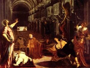 ritrovamento del corpo di San Marco, del Tintoretto