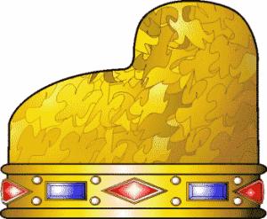 la corona con pietre preziose