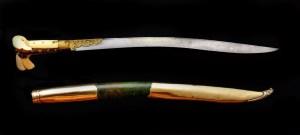 il manico veniva ricavato da un osso di agnello