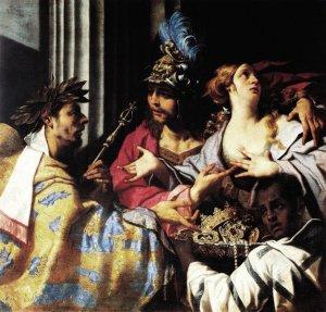 OPERA DI LUCA fERRARI Crise chiede ad Agamennone di liberare Criseide