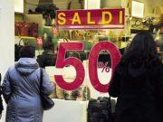 Ascom: ottimismo nel Sandonatese per l'avvio dei saldi invernali