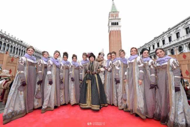 Corteo della Festa delle Marie 2019 del Carnevale di Venezia