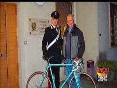 Bici di Coppi rubata a Santa Maria di Sala, ritrovata